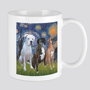 T-Starry Night - 3 Boxe Stainless Steel Travel Mug
