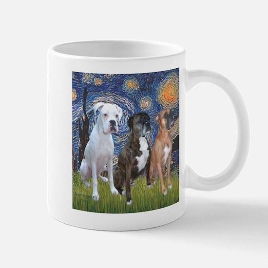 T-Starry Night - 3 Boxe Stainless Steel Travel Mug