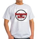 Designated Driver Ash Grey T-Shirt