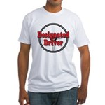 Designated Driver Fitted T-Shirt