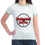 Designated Driver Jr. Ringer T-Shirt
