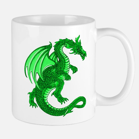 Green Dragon Mug