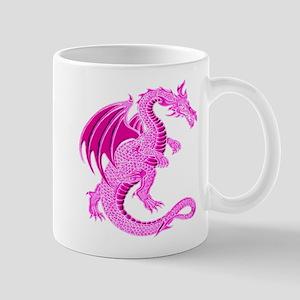 Pink Dragon Mug