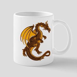 Gold Dragon Mug