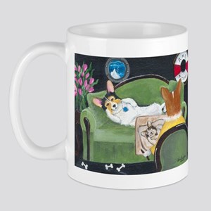 The Heart of the Ocean Pembroke Welsh Corgi Mug