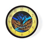 K.C.C.A. Wall Clock