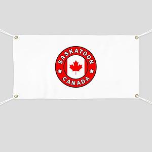 Saskatoon Canada Banner