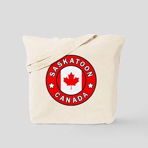 Saskatoon Canada Tote Bag