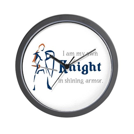 My Own Knight Wall Clock