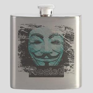 V Resist Merchandise Flask