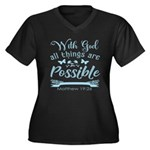 With God Plus Size T-Shirt