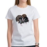 Wild Turkey Pair Women's T-Shirt