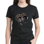 Wild Turkey Pair Women's Dark T-Shirt