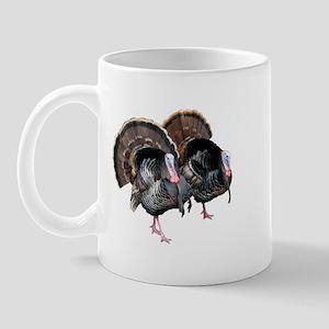 Wild Turkey Pair Mug