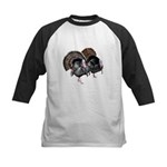 Wild Turkey Pair Kids Baseball Jersey