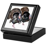 Wild Turkey Pair Keepsake Box
