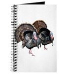 Wild Turkey Pair Journal