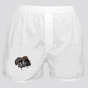 Wild Turkey Pair Boxer Shorts