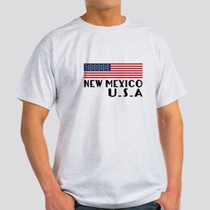 New Mexico U.S.A State Designs Light T-Shirt