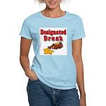 Designated Drunk Women's Pink T-Shirt