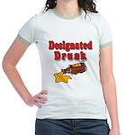 Designated Drunk Jr. Ringer T-Shirt