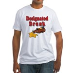 Designated Drunk Fitted T-Shirt