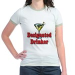 Designated Drinker Jr. Ringer T-Shirt