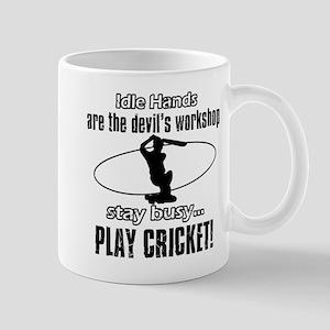 Cricket Design Mugs