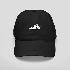 Virginia Gymnastics Shirts Gy Black Cap with Patch