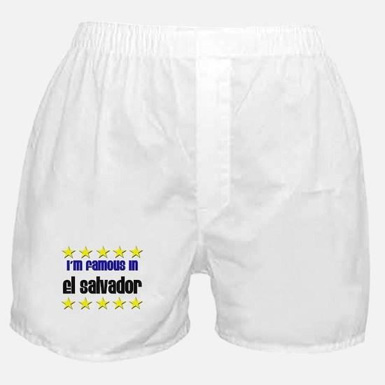 I'm Famous in El Salvador Boxer Shorts