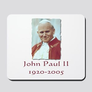 John Paul II - Design II Mousepad