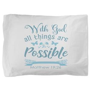 With God Pillow Sham