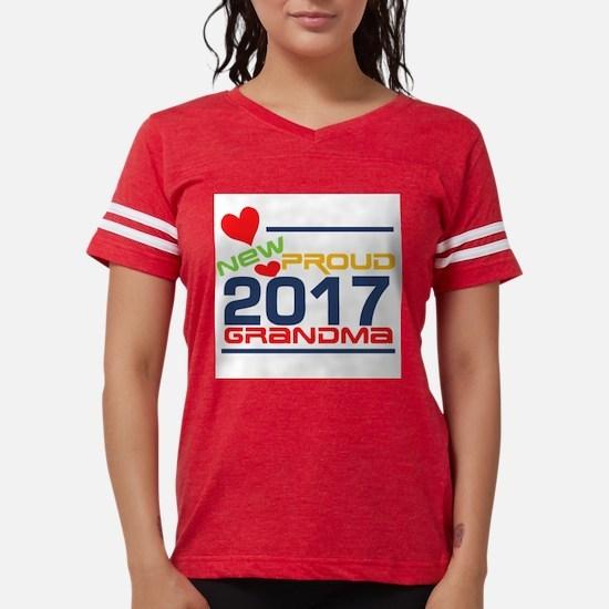 2017 Proud New Grandma Women's Light T-Shirt