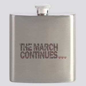 THE MARCH CONTINUES! Flask