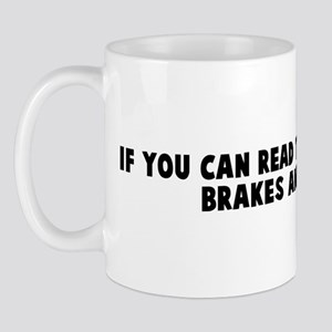 If you can read this I can hi Mug