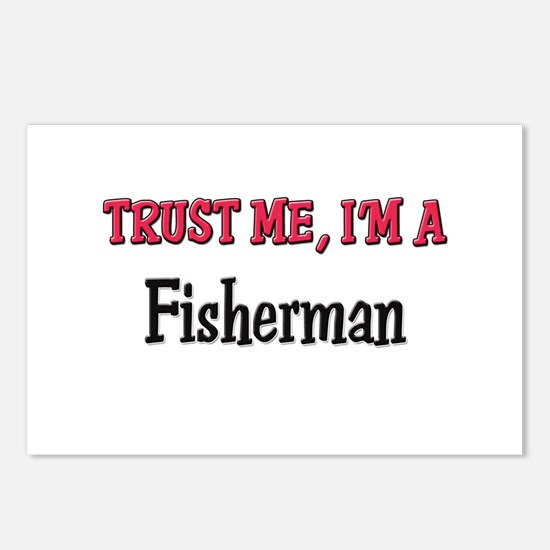 Trust Me I'm a Fisherman Postcards (Package of 8)