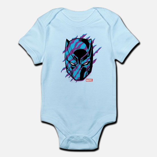 Black Panther Mask Scratch Body Suit
