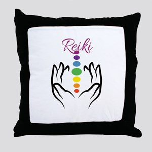 REIKI Throw Pillow