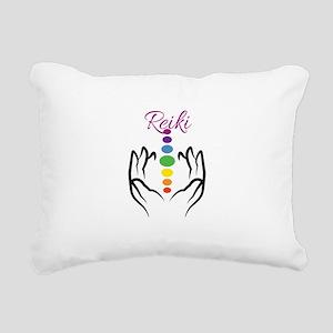 REIKI Rectangular Canvas Pillow