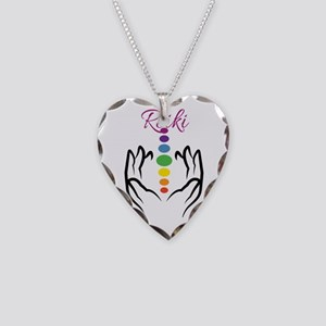 REIKI Necklace Heart Charm