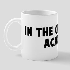 In the groves of academe Mug