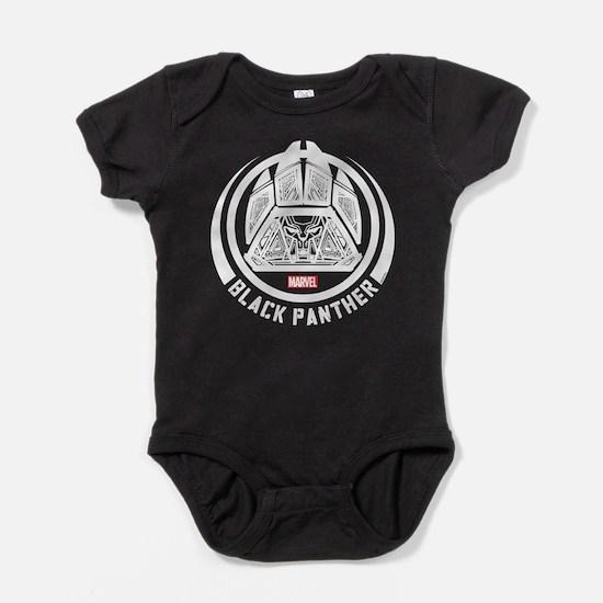 Black Panther Symbol Baby Bodysuit