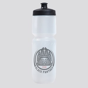 Black Panther Symbol Sports Bottle