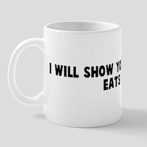 I will show you how the cow e Mug