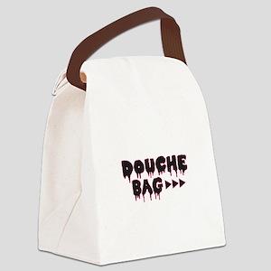 Douche Bag Canvas Lunch Bag
