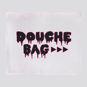 Douche Bag Throw Blanket