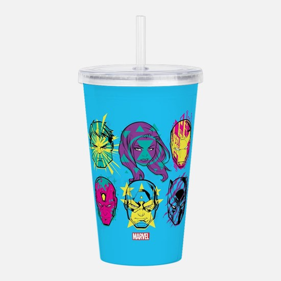 Black Panther Avengers Acrylic Double-wall Tumbler