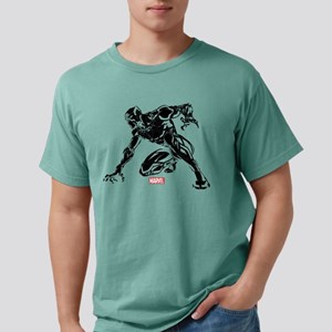 Black Panther Claw Mens Comfort Colors Shirt