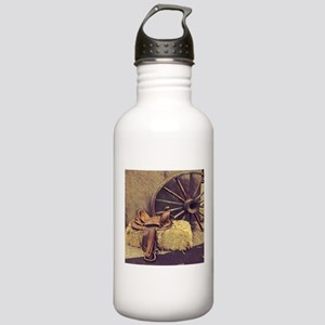 horse saddle western c Stainless Water Bottle 1.0L