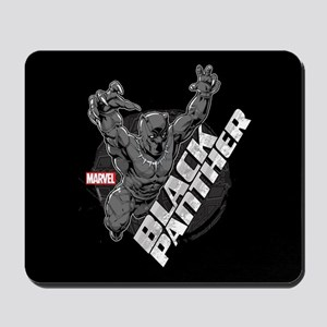 Black Panther Attack Mousepad
